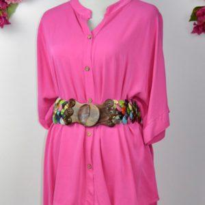 Camisa de mujer color frambuesa