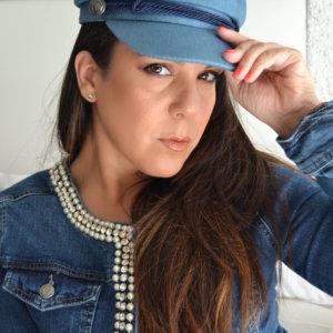 Gorra de mujer vaquera