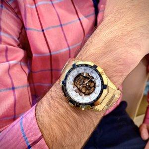 reloj tourbillon hombre color oro