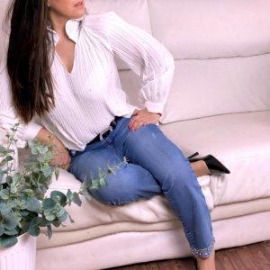 look pantalón jeans vaqueros de mujer