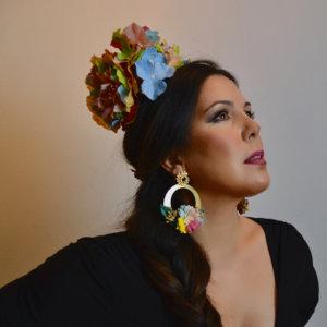 conjunto flamenca Sándalo