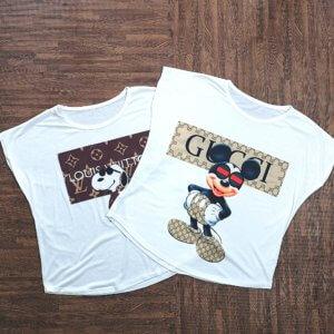 moda mujer, camiseta manga corta, tienda online