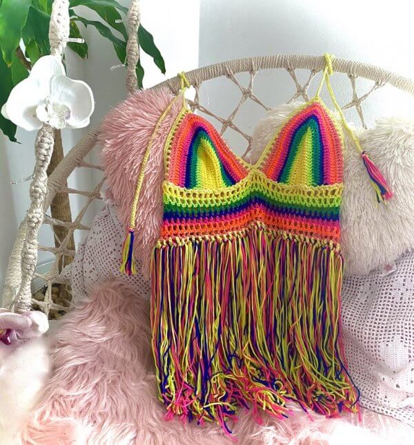 top crochet flecos